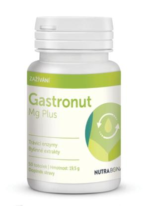 GASTRONUT Mg Plus – pro radost z jídla, které máte rádi