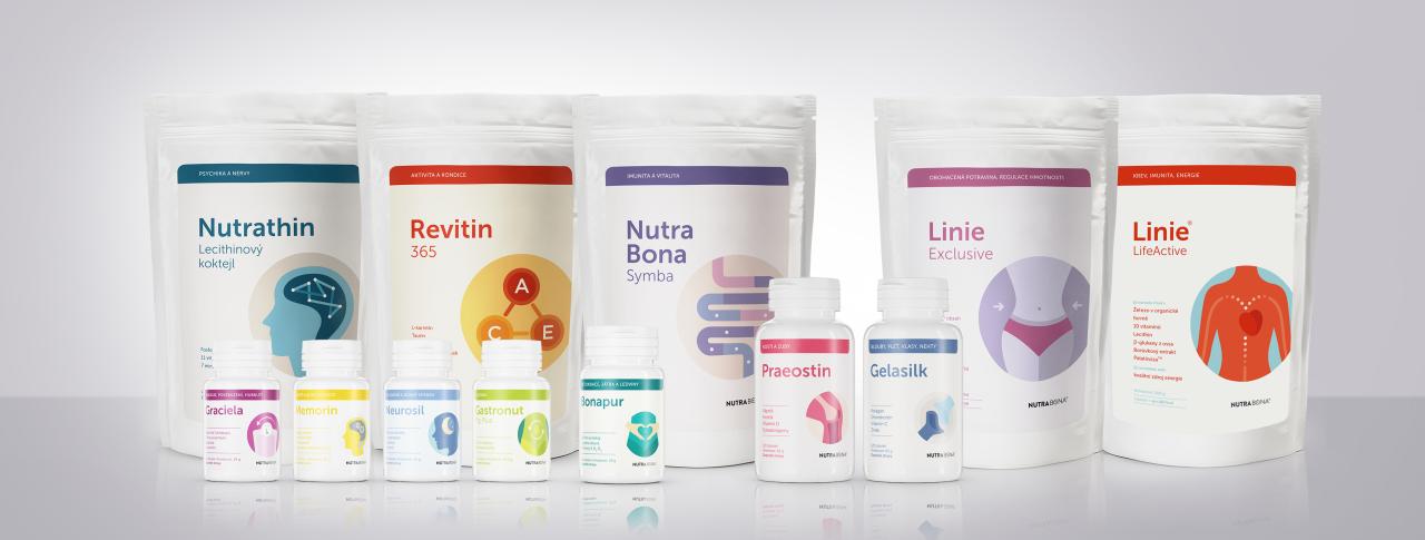 Doplňky stravy Nutra-Bona